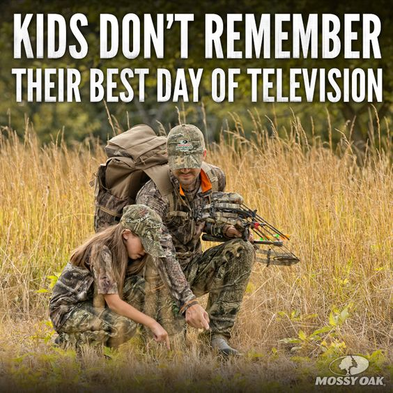 kids remember hunting